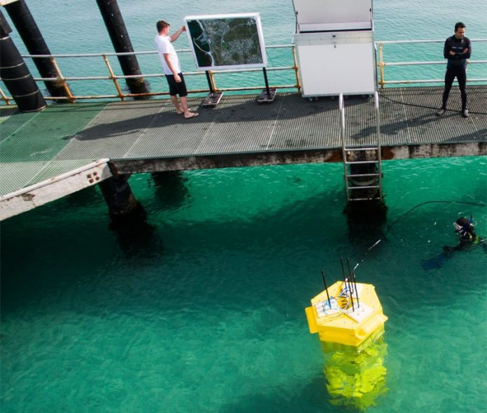Protean Wave Energy Successfully Deploys Pilot WEC At Port