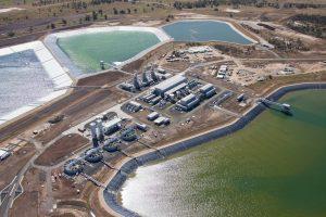 QGC's water treatment plant in Queensland, Australia Image credit: www.genewsroom.com
