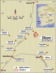 Image credit: Australian Mines' ASX release