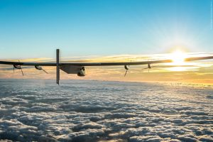 Solar Impulse 2 above the clouds Image provided