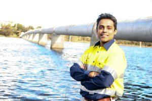 CSIRO senior engineer, Dr Rueben Rajasingam Image credit: www.csiro.au