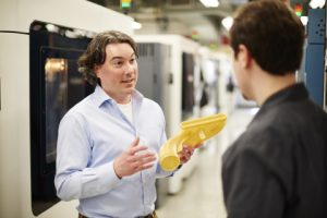 Professional Services consultants can help engineers, designers and management teams understand when and where to utilize 3D printing. Image credit: Business Wire