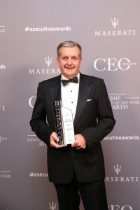Nigel Garrard, Managing Director and CEO, Orora, CEO of the Year award Image provided