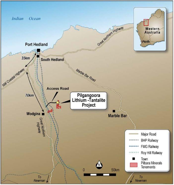 Pilbara Minerals awards EPC contract for its Pilgangoora Lithium