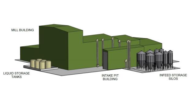 Ridley to build new feedmill in Tasmania