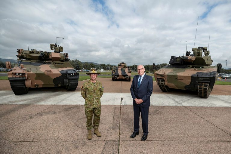 Government unveils Infantry Fighting Vehicle contenders